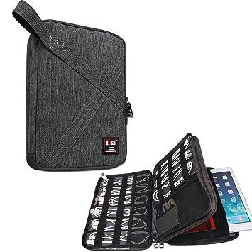 b4130a3efe Amazon | BUBM 二層式 マルチ収納ケース PC周辺機器整理ポケット ...