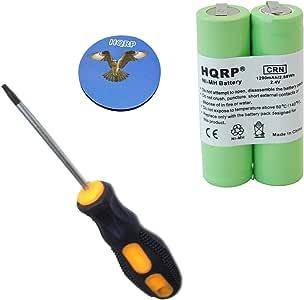 HQRP Batería recargable para Philips Norelco 4825XL / 4845XL ...