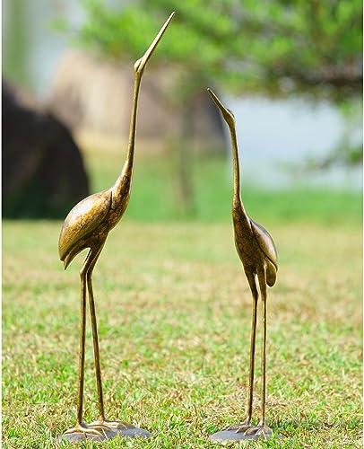 SPI Home Crane Pair Statue