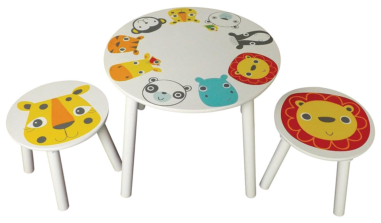 Stuff4kids Safari Table and Two Stools Kidsaw SAFTC