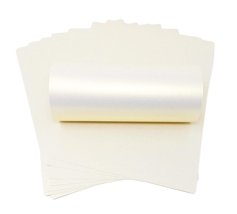 Carta A4/color avorio con oro Perlescenti 100/gsm per stampanti laser e a getto d inchiostro