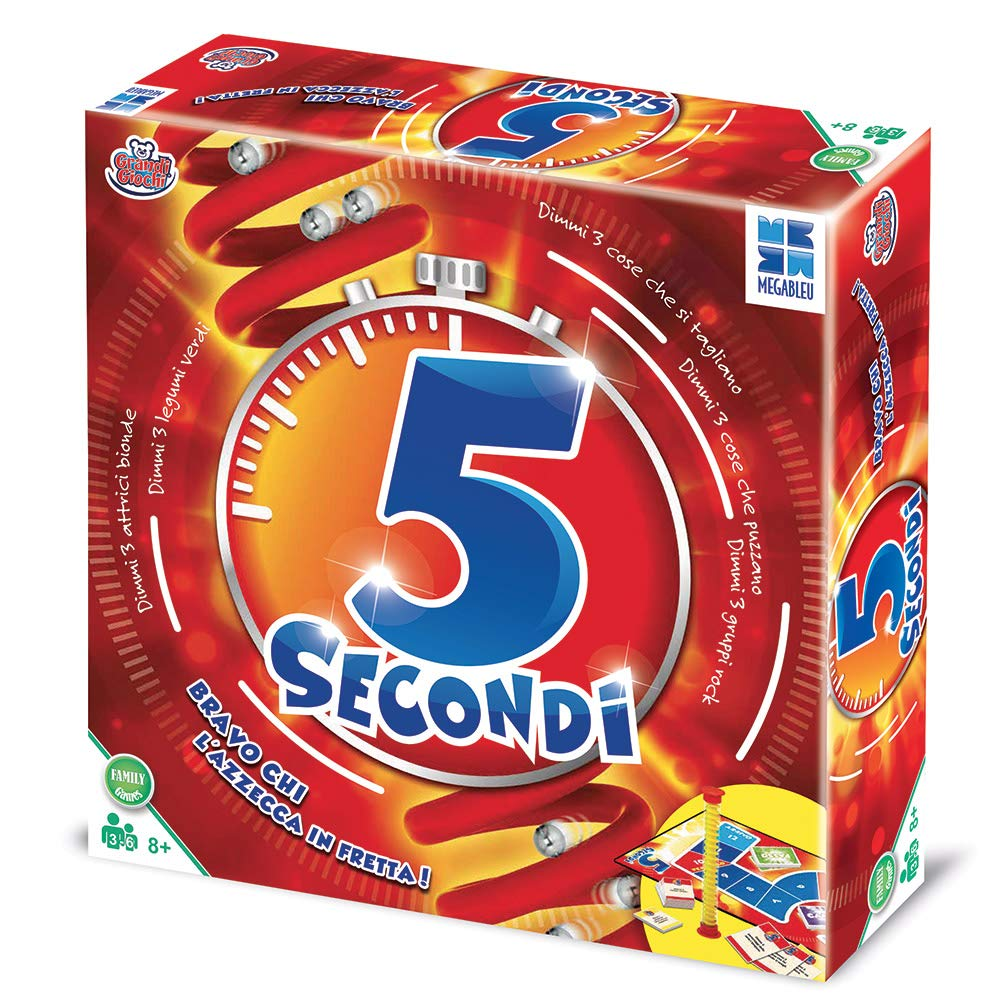 Grandi Giochi mb678557 – 5 Segundos: Amazon.es: Juguetes y juegos