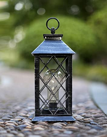 Superb YaCool Decorative Garden Lantern   Vintage Style Hanging Lanterns Outdoor  Lighting Garden Light   Battery