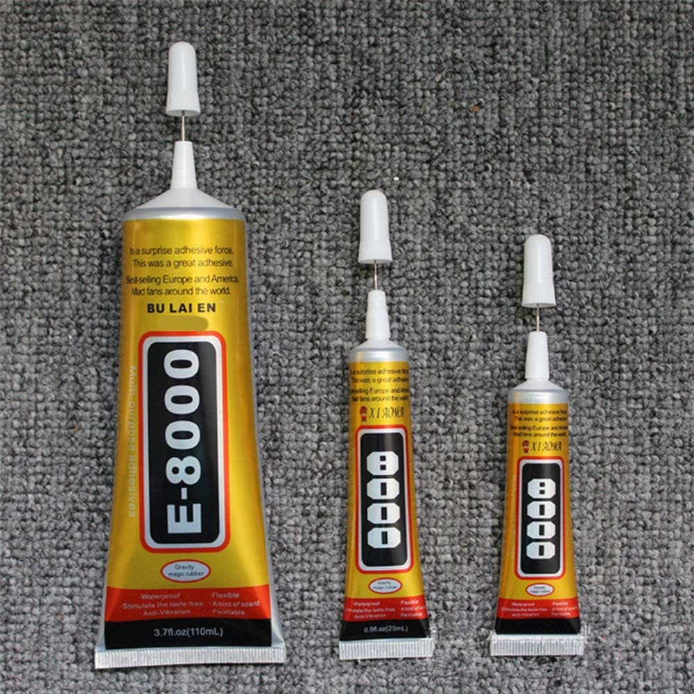 Pretty Comy Multi-Purpose E8000 Liquid Glue DIY Strong Adhesive for Jewelry Crafts Crystal Rhinestone: Toys & Games