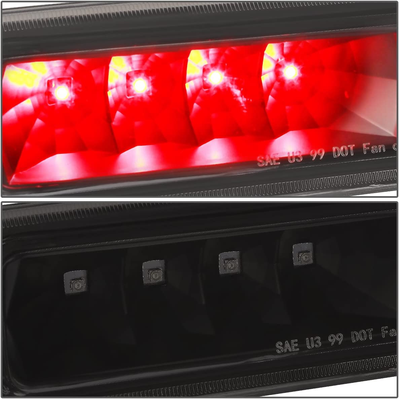 DNA Motoring 3BL-JGC99-LED-BK-SM LED Third Brake Light