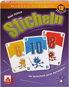 NSV - 4014 - STICHELN - Juego de Cartas (versión en alemán): Palesch, Klaus: Amazon.es: Juguetes y juegos