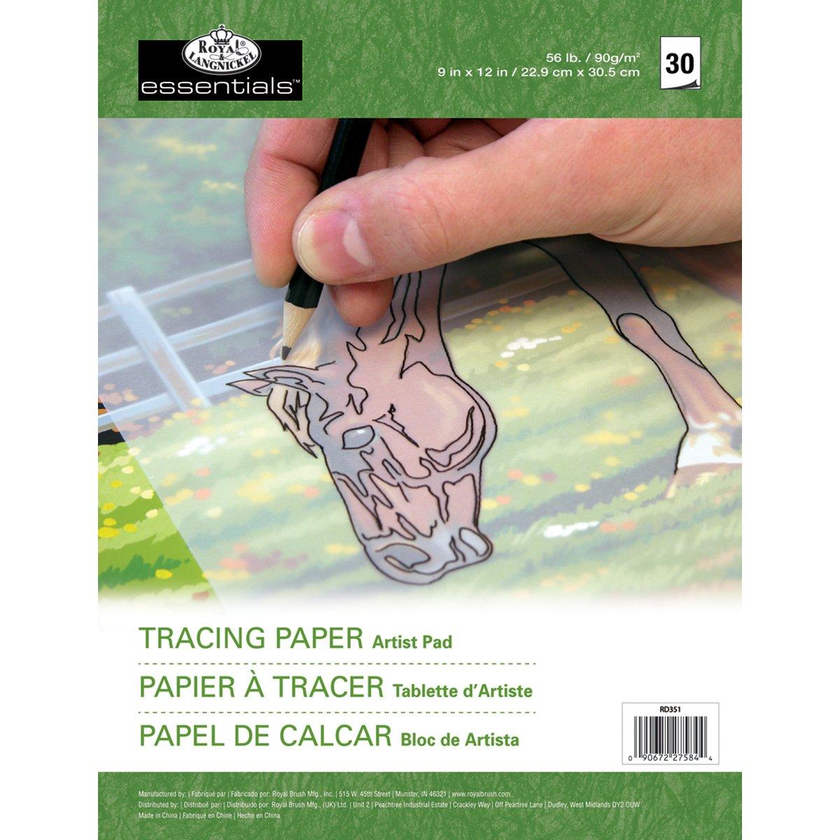 Royal & Langnickel - Carta trasparente per tracciare i contorni RD35-1