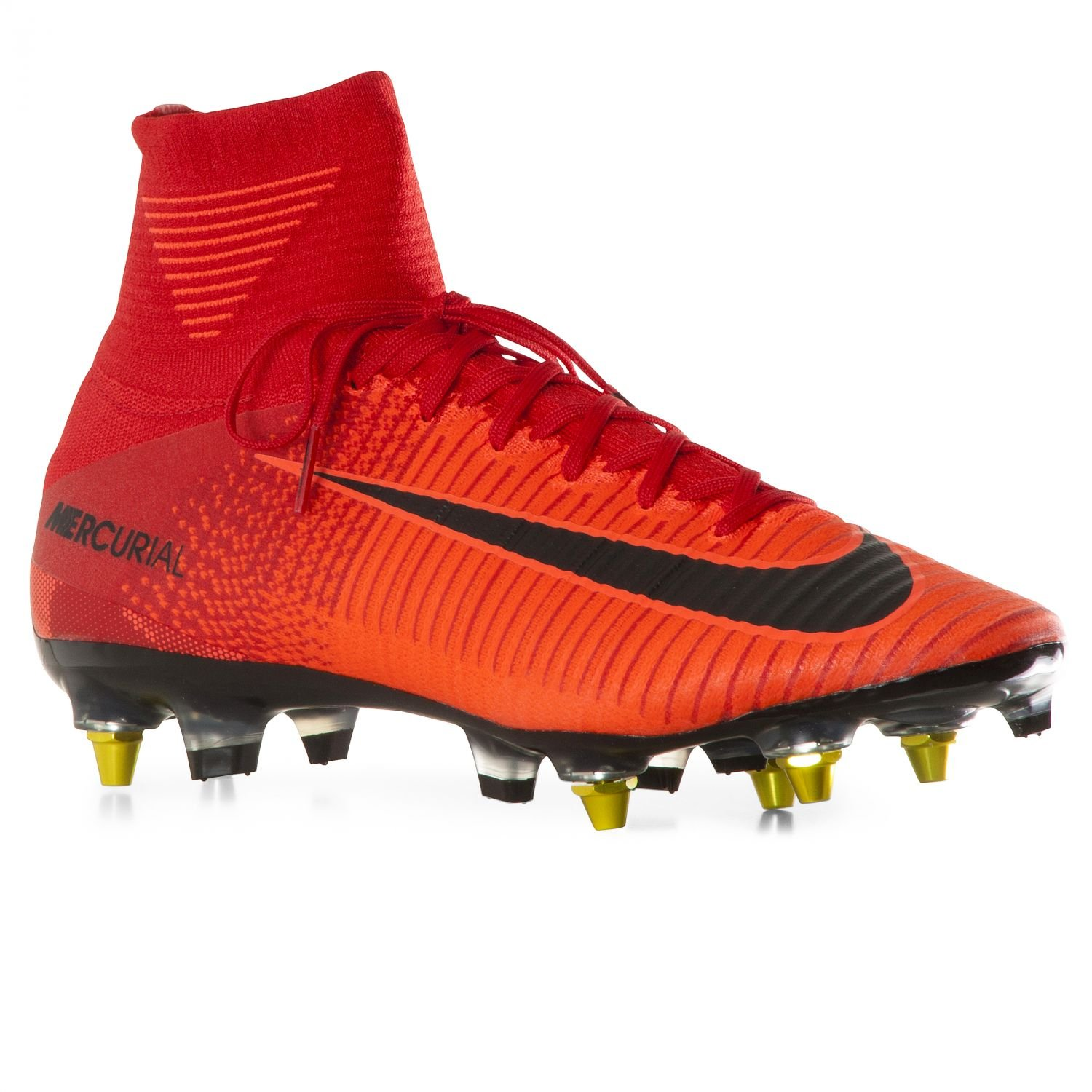 c1f6cf7a4b9e Buy NIKE Men's Mercurial Superfly Anti-Clog (SG-Pro) Soft-Ground Soccer  Cleat (Sz. 9) Red, Bright Crimson Online at Low Prices in India - Amazon.in