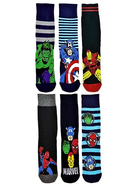 Para hombre calcetines de producto oficial de Marvel de Los Vengadores de - de ducha de