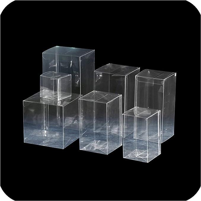 Caja de plástico transparente para regalo de Navidad o bodas, 5 ...
