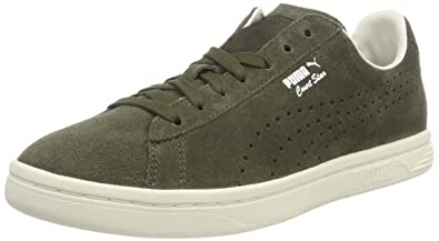 pretty nice bf06c 256bb Amazon.com | PUMA Unisex Adults' Court Star Suede Interest ...