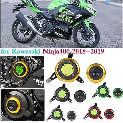 400 ninja accesorios Protector del motor Funda deslizante ...