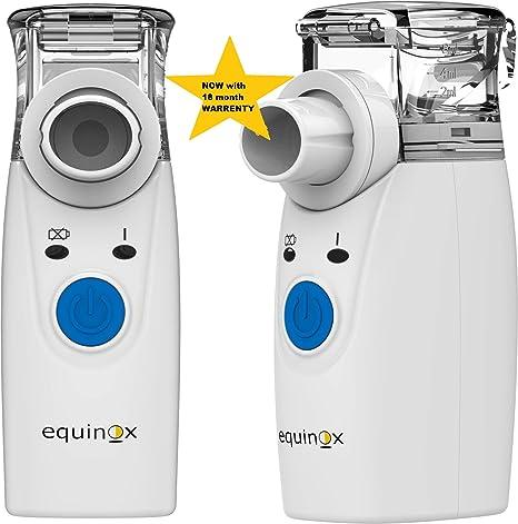 Equinox Eq Mn 81 Portable Mesh Nebulizer White Amazon In Health