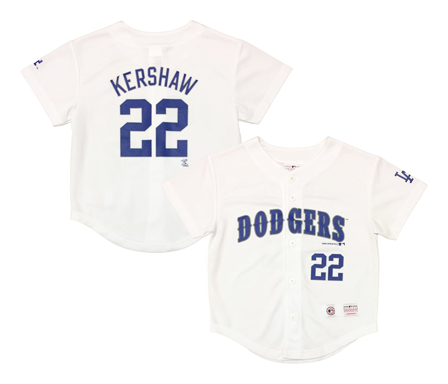 Clayton Kershaw Los Angeles Dodgers #22 White Youth Player Fashion Jersey hot sale