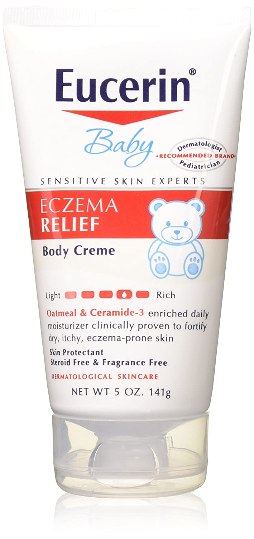 Eucerin Ecxema Bby Rlf Bd Size 5z Eucerin Baby Eczema Relief Body Creme 5z (Pack of 3)