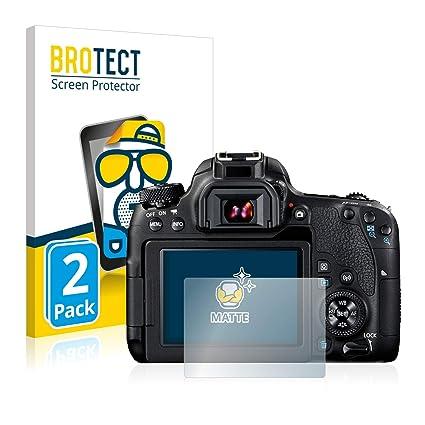 BROTECT Protector Pantalla Anti-Reflejos Compatible con Canon EOS ...
