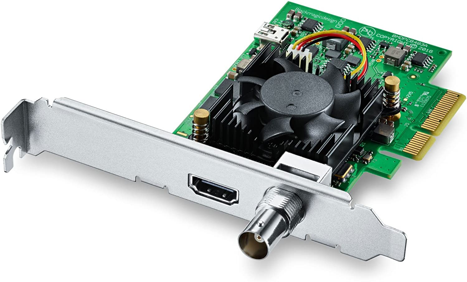 Blackmagic Design Decklink Mini Recorder 4k Pcie Capture Card Amazon Co Uk Computers Accessories