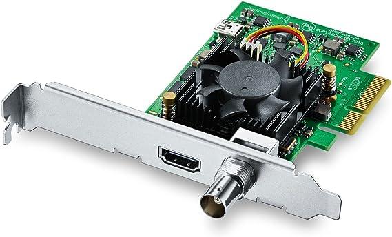 Amazon Com Blackmagic Design Decklink Mini Recorder 4k Pcie Capture Card Computers Accessories
