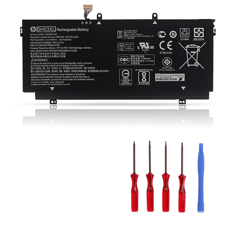 Bateria Sh03xl Hp Spectre X360 13-ac033dx 13-w013dx 13-w023d