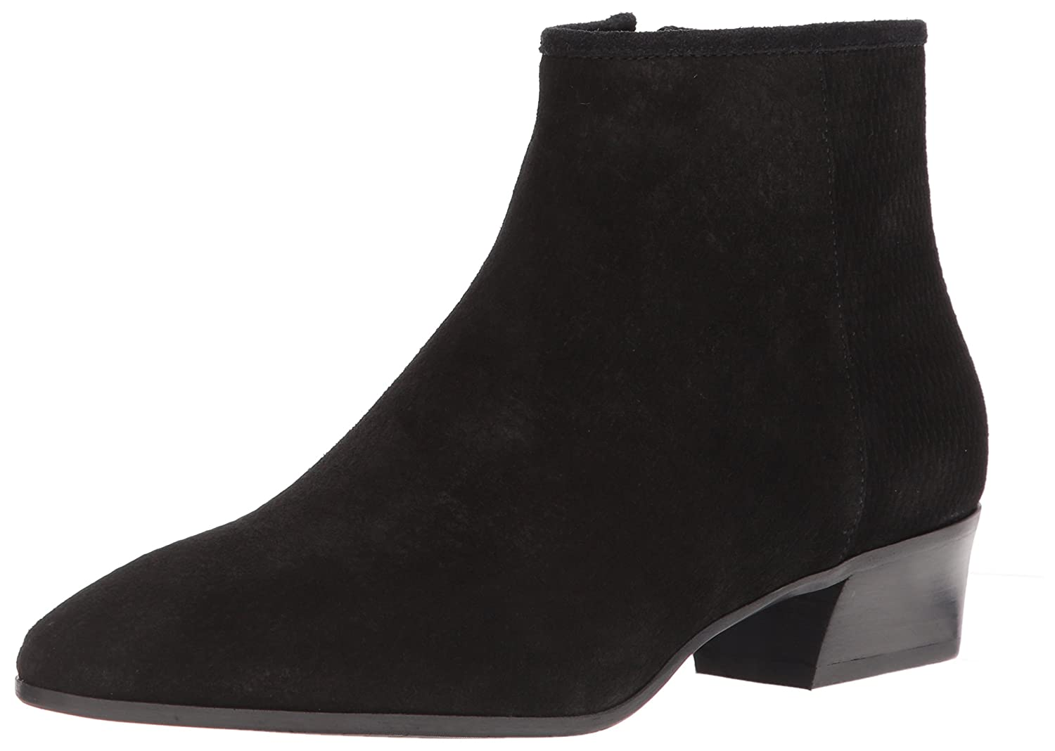 Aquatalia Women's Fire Perforated Suede Ankle Boot B072R49QDZ 9.5 M M US|Black
