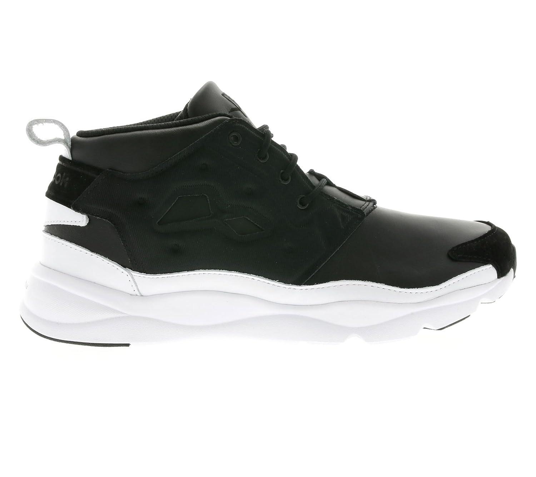 16573e808 Reebok Mens Classics Mens Furylite Chukka AFF Trainers in Black - UK 12   Amazon.co.uk  Shoes   Bags