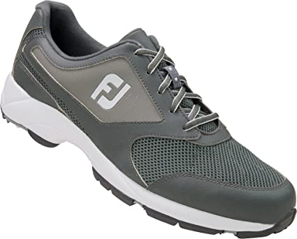 Amazon.com  FootJoy c o Golf Athletics 56814 Grey Spikeless Golf ... 7094ba3fd425