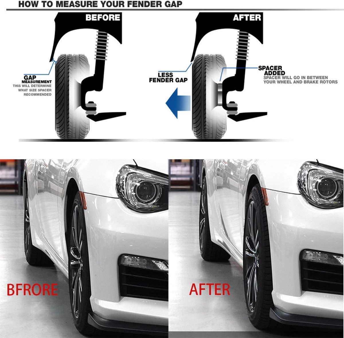 KSP 5X120mm Wheel Spacers for BMW 2PCS 12mm Hubcentric Forged Tuning Spacer for BMW E36 E46 E90 E92 E60 318i 323i 325i 328i 330i 335i 525i 545i Thread Pitch M12x1.5 Hub Bore 72.56mm