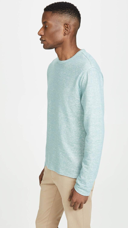 Vince Mens Double Knit Crew Neck Shirt