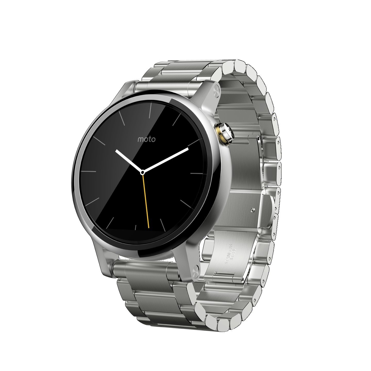 moto 2nd gen watch. Amazon.com: Motorola Moto 360 (2nd Gen.) - Mens 42mm, Silver With Metal: Cell Phones \u0026 Accessories 2nd Gen Watch M