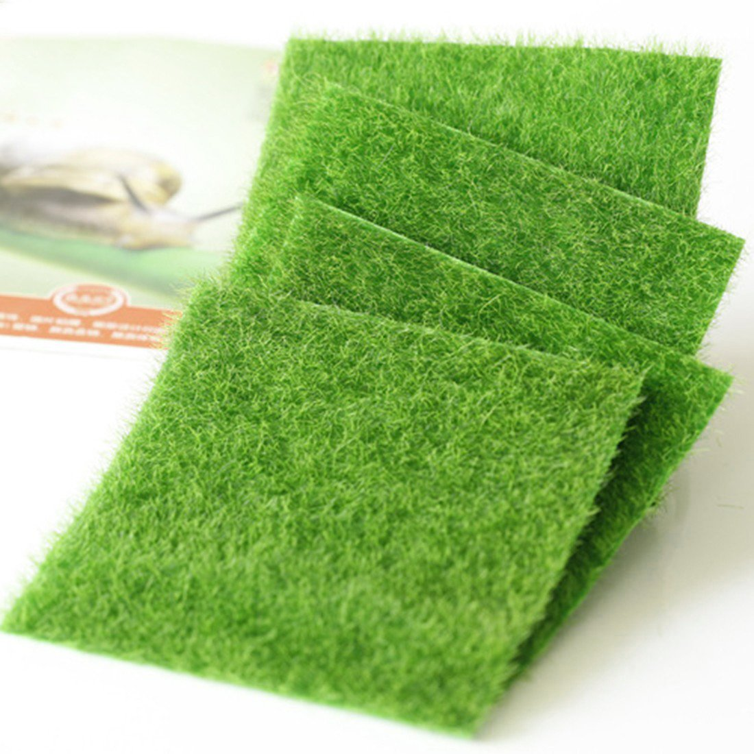 Artificial Grass Fake Lawn Fake Grass Miniature Dollhouse Home Garden D¨¦cor