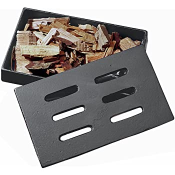 Amazon Com Outset Qs77 Wood Chip Smoking Box Stainless