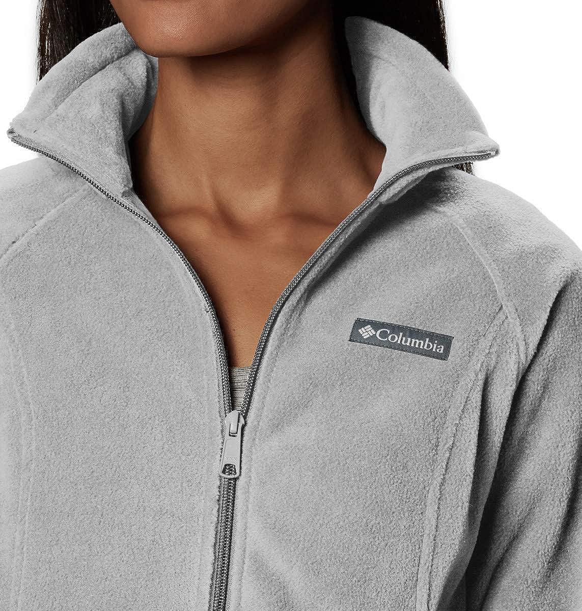 Columbia Benton Springs Full Zip, Soft Fleece Jacket Giacca Pile Donna Cirrus Grey Heather