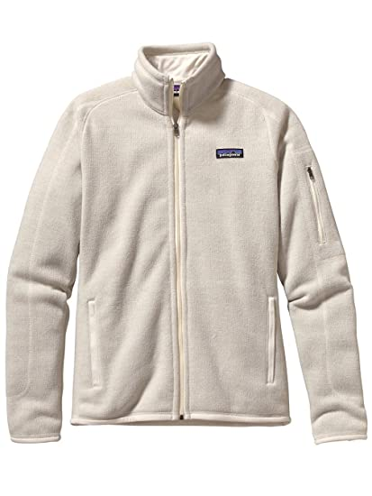 Amazon com: Patagonia Better Sweater Full Zip Jacket Raw Linen