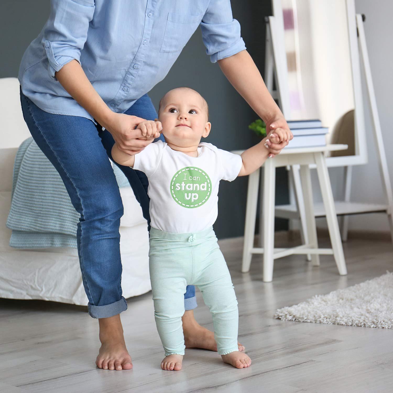 Baby Monthly Milestone Stickers - Set of 30 Premium Baby Month Stickers for Newborn Boy or Girl First Year Best Unisex Baby Shower Registry Gift or Scrapbook Photo Memory Keepsake