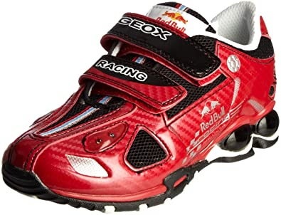 d0697defef Geox Junior Jr Fighter Red Bull Red Lighted Trainer J11K6A5414C7000 9.5  Child UK