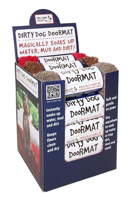 Amazon.com : Dog Gone Smart Dirty Dog Doormat, Large, Brown : Pet ...