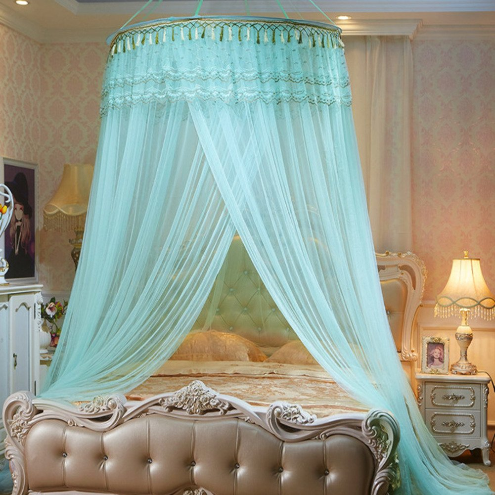 Court Dome Ceiling Mosquito Net/Simple,Fashion Single Bed Bed Nets/European Hanging Mosquito Net-C F