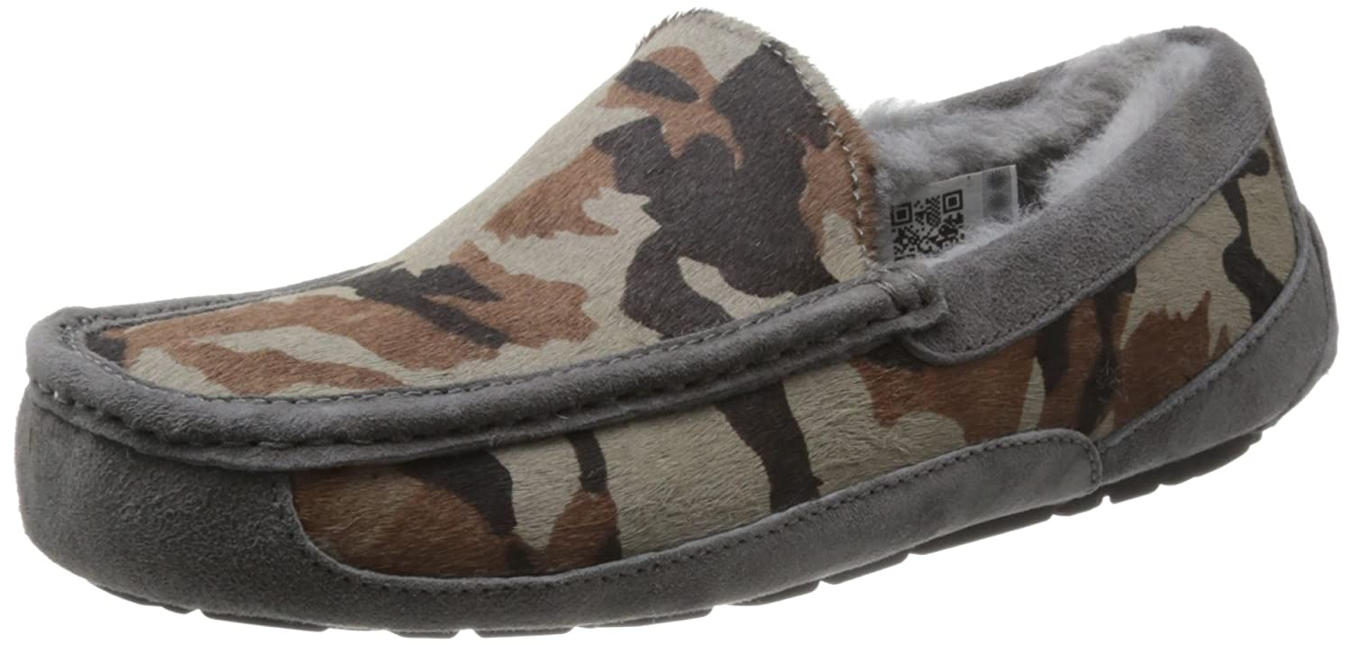 71b85c88ff3bf Amazon.com | UGG Mens Ascot Camo Slipper Metal Size 9 | Shoes