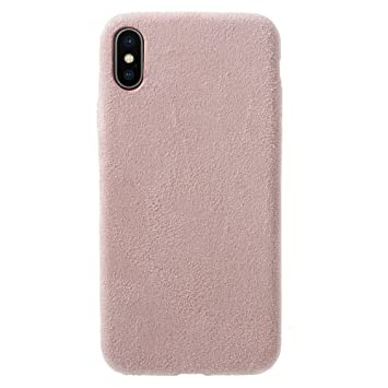 coque daim iphone x
