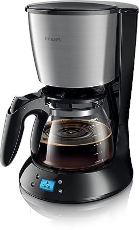 Philips N HD7459/20 - Cafetera (Independiente, Negro, Metálico, Goteo, De café molido, Café, 1,2L): Amazon.es: Hogar