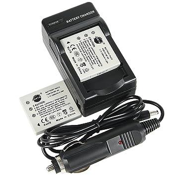 Amazon.com: DSTE® 2 x NP-40 Batería + DC29 Travel y cargador ...