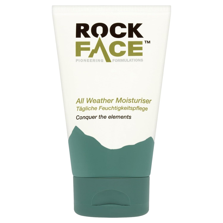 Rockface All Weather Moisturiser - cremas hidratantes (Hombres, Energazing, Hidratante, Shea butter, Tubo) 5017694000808