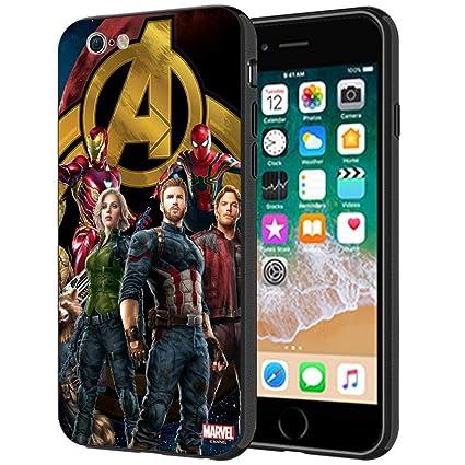 info for 76618 73c1f MTT Marvel Avengers Infinity War Printed Mobile Back Case Cover for Apple  iPhone 6S & 6