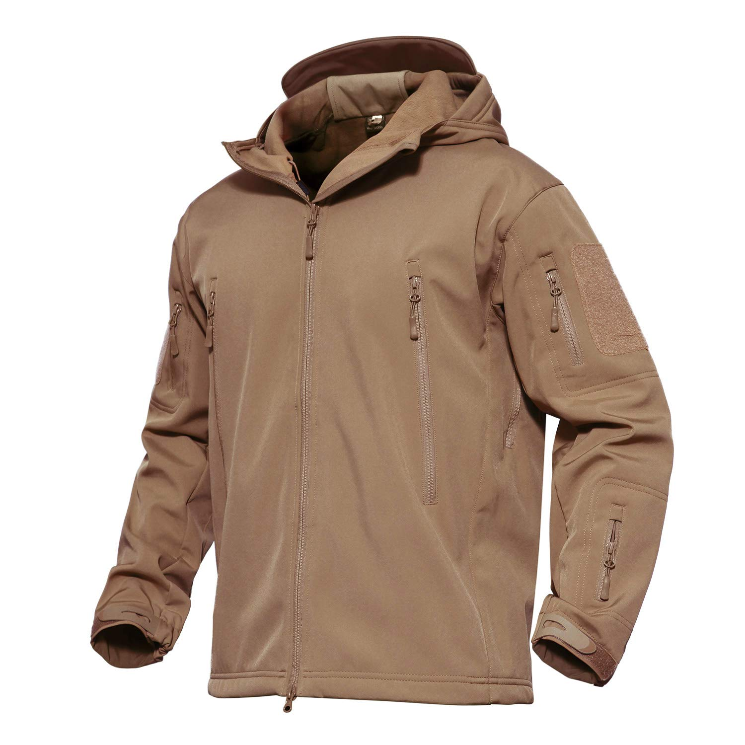 MAGCOMSEN Winter Coats for Men Tactical Jackets for Men Military Jacket Hunting Jacket Warm Jacket Thick Jacket Parka Jacket Men Sand by MAGCOMSEN