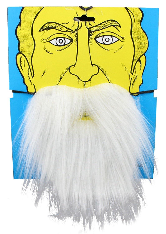 SUNNYTREE Fake Beard Moustache Halloween Party Cosplay Costume LQQ-FakeBeard-Black