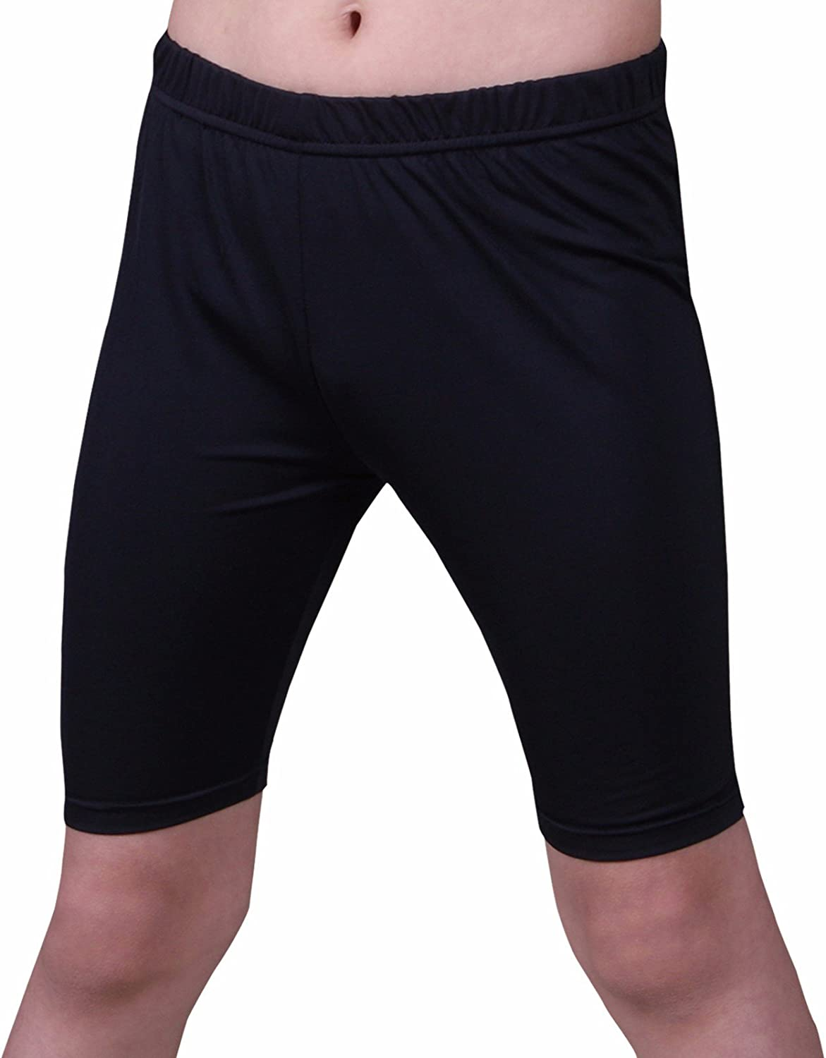 Henri maurice Kids Compression Shorts Underwear Youth Boys Spandex Base Layer Bottom Pants FK: Clothing