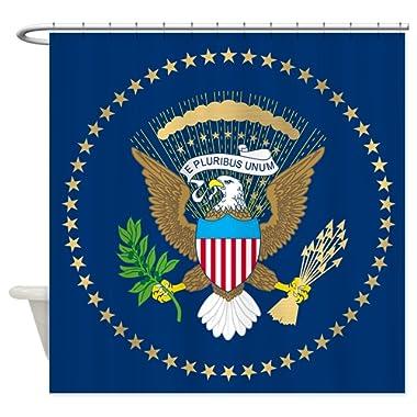 CafePress Presidential Seal Shower Curtain Decorative Fabric Shower Curtain (69 x70 )