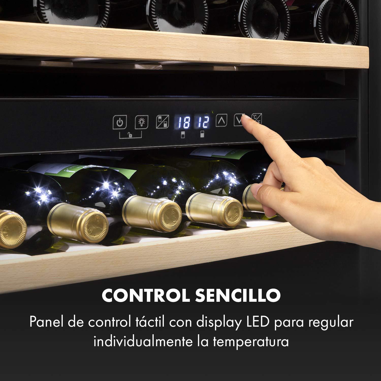 Klarstein Vinsider 36 - Nevera para vinos, Nevera de bebidas, Con ...