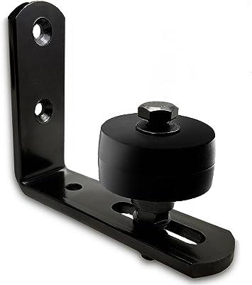 Sliding Barn Door Hardware Kit Single Door Adjustable Floor Guide