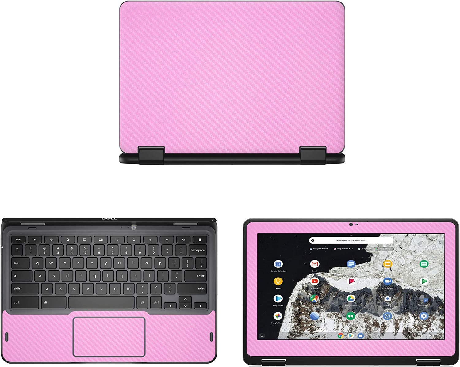 Decalrus - Protective Decal for Dell Chromebook 3100 2-in-1 (11.6